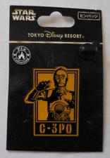 Disney pin Tdr Star Wars Posters-C-3Po New