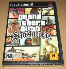Grand Theft Auto: San Andreas (Sony PlayStation 2) Brand New / Fast Shipping