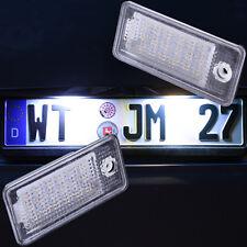 LED Kennzeichenbeleuchtung für Audi A3 8P A4 B6 B7 A5 A6 4F Q7 SET [7301]