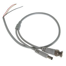 60cm 3Pin BNC + DC Male Adapter Video Power Cable for Home Security CCTV Camera