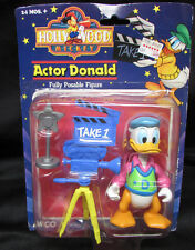 80s RARE ARCO HOLLYWOOD ACTOR DONALD DUCK FULLY POSABLE FIGURE NIP **NICE**