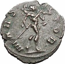 Claudius II Gothicus 268AD Ancient Roman Coin Ares Mars War God Cult   i55867