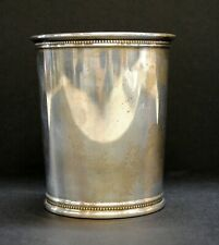 """Reed & Barton Sterling Silver Presidential Julep Cup, 3.75"""", 4.55 Troy Ounces"""