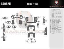 Fits Ford F150 2DR 2000-2003 Large Wood Dash Trim Kit