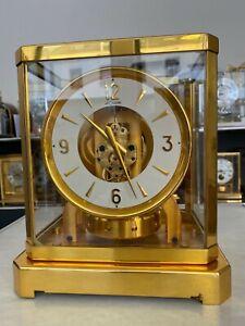 Zz Atmos III Uhr von Jaeger-LeCoultre Kaliber 519 in sehr gutem Originalzustand