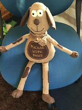 door stop animal  Please Wipe Your Paws New With Tags