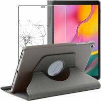 Etui + Film VERRE Trempé Coque Samsung Tablette Galaxy Tab A 10.1 2019 T510 T515