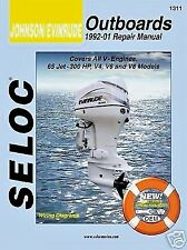 JOHNSON EVINRUDE SERVICE REPAIR MANUAL 1992 - 2001 65 - 300HP SELOC 1311