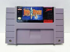 Super Nintendo SNES J.R.R. Tolkien's The Lord of the Rings Vol.1 Game Cart ONLY