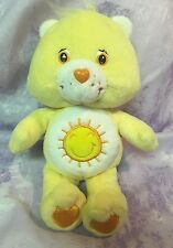 "Care Bears Yellow FunShine Sun Plush 8""  Stuffed Animal"