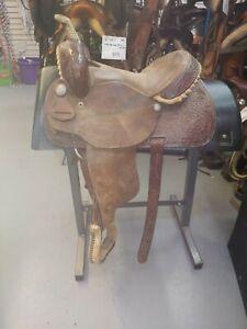 """14"""" Tex Tan Western Saddle"""