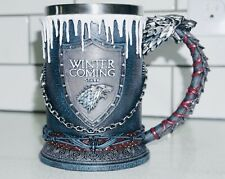 Game of Thrones Official Hbo merchandise Stark Tankard Winter is coming!