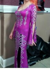 Saudi Belly Dance Dress Made in Egypt, stretchy size 8/medium, costume