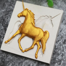 3D Unicorn Horse Silicone Fondant Mold Cake Decorating Chocolate Baking Mould