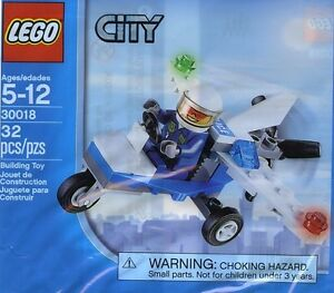 LEGO City #30018 - Police Microlight - NEW / NEUF - Collector 2012 - Sealed