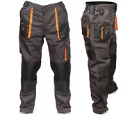 Mens Multi Pocket Cargo Heavy Duty Knee pad,Triple Stitched Trousers,TOP QUALITY