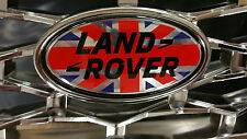 LAND Rover Union Jack Distintivo di grandi dimensioni per disco 3 o Defender GRILLE 105 mm x 55 mm