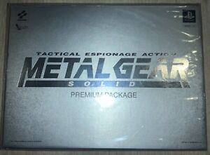 HOLY GRAIL, Rare Item! Metal Gear Solid Premium Package SEALED UNOPENED MGS
