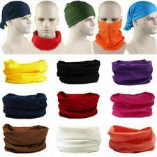 Biker Bandana Head Face Mask Neck Gaiter Snood Headwear Beanie Tube Scarf SALE