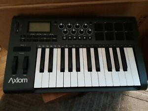 M-Audio Axiom25 Midi Keyboard used not working suit parts