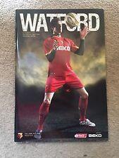 Watford v Norwich City - Coca~Cola Championship 2007/08 Programme