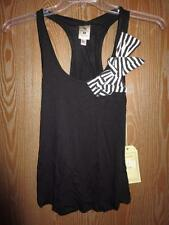 Neuf Louisville Cardinaux Femme XS Xsmall Noeud Noir Tank T-Shirt par Meesh &