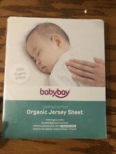 Cooling Cofert Organic Jersey Sheet New Bedside Sleeper Baby New Babyboy