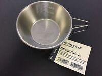 Snow Peak Titanium Shera Cup E-104 310ml Camping Cookware from JAPAN