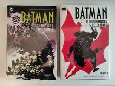 Batman by Doug Moench & Kelley Jones 1 - 2 HC (DC Comics) RARE OOP