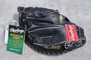 RAWLINGS RFM18BPRO FIRST BASE MITT, RIGHT HT, THE MARK OF A PRO, ARCH BASKET WEB
