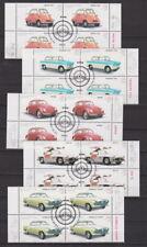 BRD 2002 gestempelt ESST Bonn 4er Block MiNr. 2289-2293 Oldtimer-Automobile