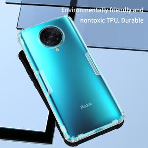 Nillkin For Xiaomi Mi Poco F3 X3 Pro X3 NFC Nature Clear Silicone TPU Case Cover