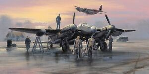 Limited Edition Aviation Print Mosquito Pathfinders by Philip E West