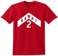 "RED Kawhi Leonard Raptors ""We The North Jersey Logo"" T-Shirt"