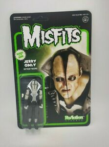 The Misfits Jerry Only Glow in the Dark Reaction 3.75 action figure Super7
