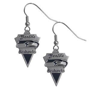 Siskiyou NFL Seattle Seahawks Cast Dangle Earrings