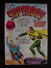 Superboy #67 PR/FA Man Who Destroyed Krypton