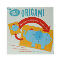 I CAN DO THAT ORIGAMI Art Kids Skills Building Project Set Paper Crafting Set