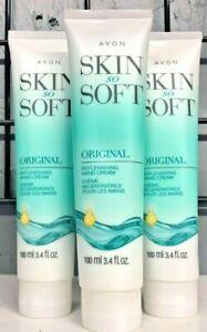 Pack of 3 - Skin So Soft Original Replenishing Hand Cream 3.4oz