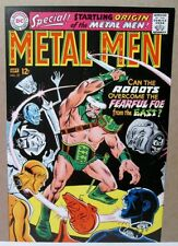 Metal Men 27 APPROVAL COVER Andru 1967 SEVERED HEADS DC Production Proof Art COA
