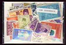 Indonésie - Indonesia 100 timbres différents