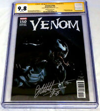 VENOM #150 CGC SS 9.8 SIGNED Gabriele DELL'OTTO Variant Amazing Spider-Man HTF