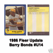 1986 Fleer Traded Baseball Set Bonds Canseco Rookie