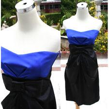 NWT TEEZE ME $70 Saphire / Black Evening Party Dress 9