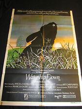 WATERSHIP DOWN original ONE SHEET poster