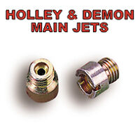 1 X PAIR OF HOLLEY / DEMON CARBURETTOR CARB CARBY  MAIN JETS SIZE # 54