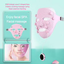 Electric Massager EMS Photon Vibration Facial Mask Skin Rejuvenation Lifting SPA