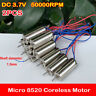 2PCS DC 3.7V 50000RPM Micro Mini 8520 Coreless Motor Small Four-axis RC Drone
