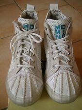 (Z76) MOMINO Girls Schuhe Sneakers zum Schnüren mit Reißverschluß & Logo gr.33