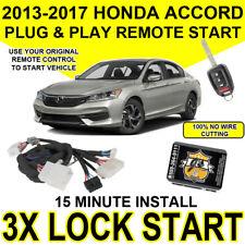 2013 2017 Honda Accord Key Start Plug Amp Play Remote Start Easy Install Diy